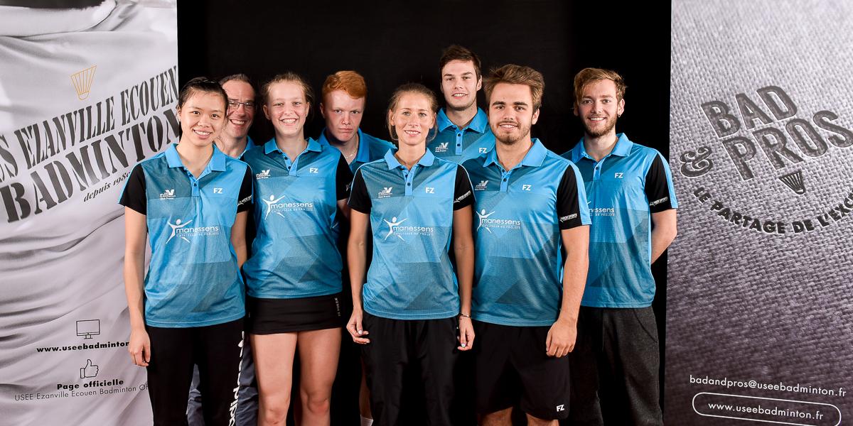 USEE Badminton Equipe1 Saison 2017 18