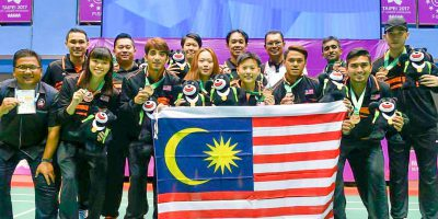 Li Lian Yang USEE Badminton Malaisia