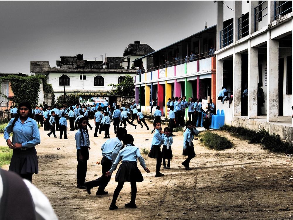 Ecole Nepal solibad USEE Badminton