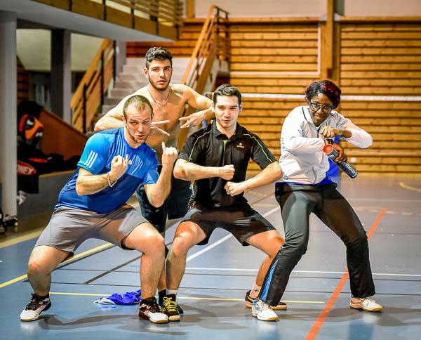 Joueur USEE Badminton