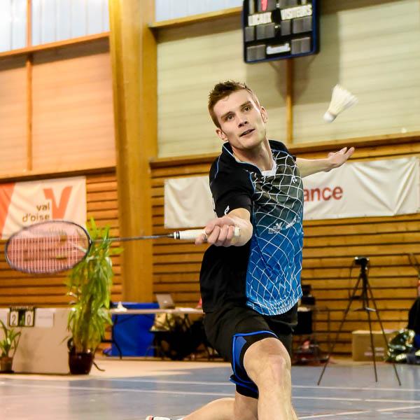 aurelien delattre USEE Badminton