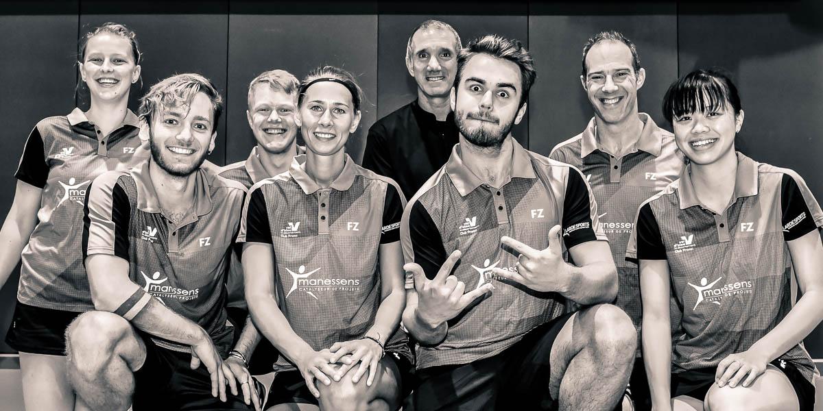 Equipe1 Usee Badminton Saison 2017 18