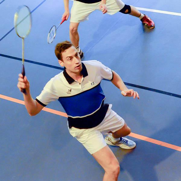 Kristian Roebuck USEE Badminton