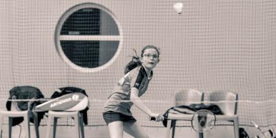 Maud Lefort USEE Badminton
