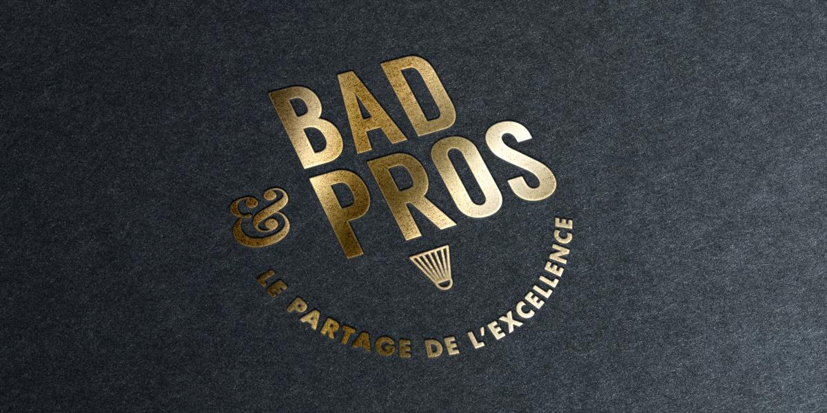Bandeau Bad&pros Or - USEE Badminton