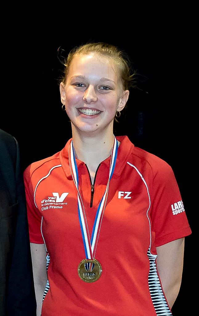 Delphine Championnedefrance 2016 - USEE Badminton