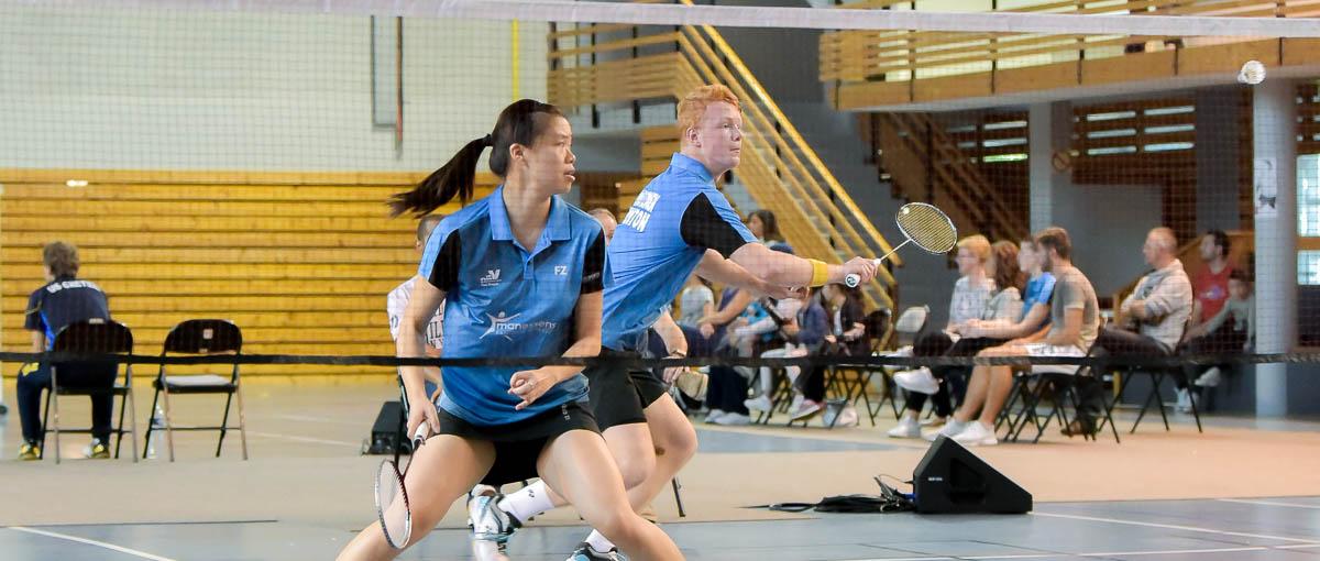 Lilian Yang Fabien Delrue USEE Badminton Equipe1 Saison 2017 18 V2