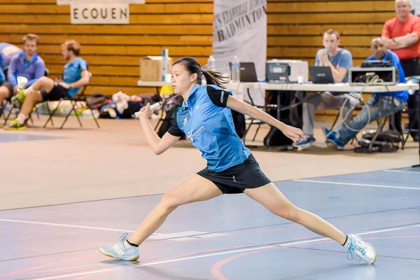 Li Lian Yang USEE Badminton Equipe1 Saison 2017 18