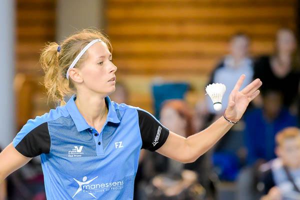 Victoria Slobodyanyuk USEE Badminton Equipe1 Saison 2017 18 V2