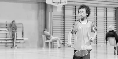 USEE Badminton avec Ethan Perou