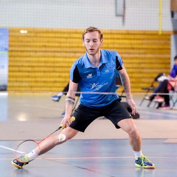 Usee Badminton Nationale1 01 avec Tanguy Citron