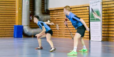Usee Badminton Nationale1 05 - Lauren Meheust et Fabien Delrue