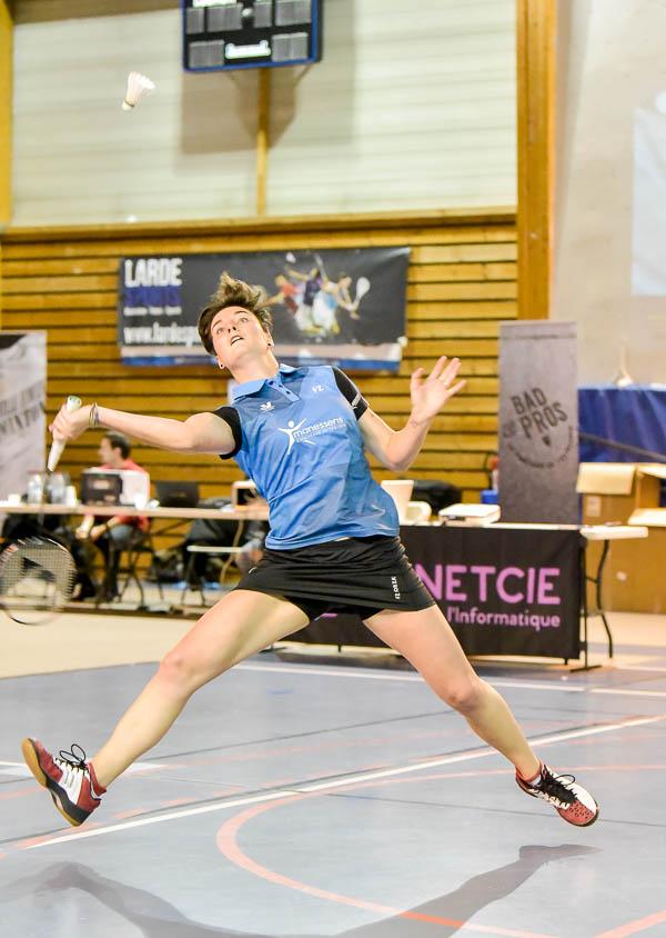 Usee Badminton Nationale1 11 avec Lauren Meheust