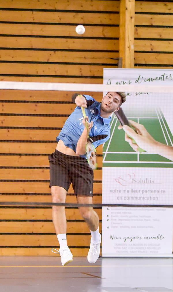 USEE Badminton Nationale 1 J6 Saison 2017 2018 1 110