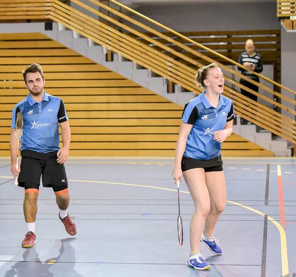 USEE Badminton Nationale 1 J6 Saison 2017 2018 1 142