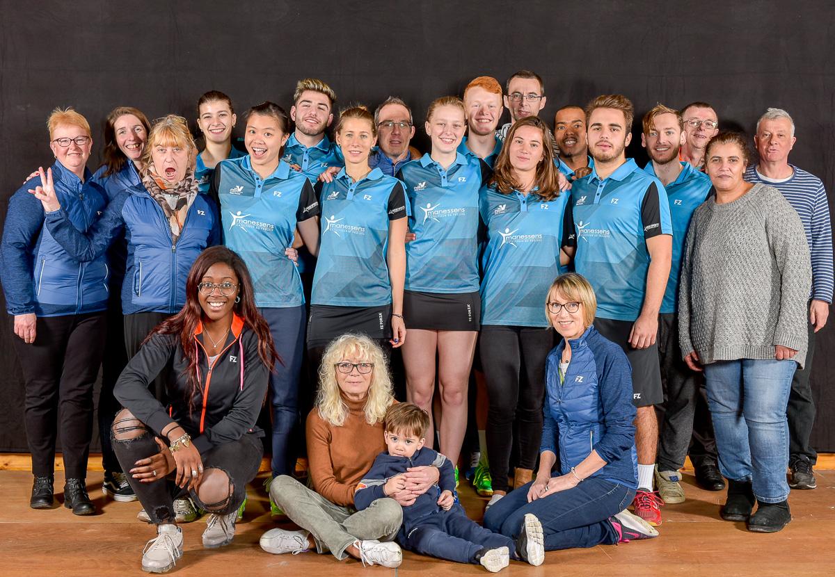 USEE Badminton Nationale 1 J6 Saison 2017 2018 1 15