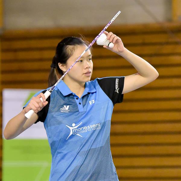 USEE Badminton Nationale 1 J6 Saison 2017 2018 1 200