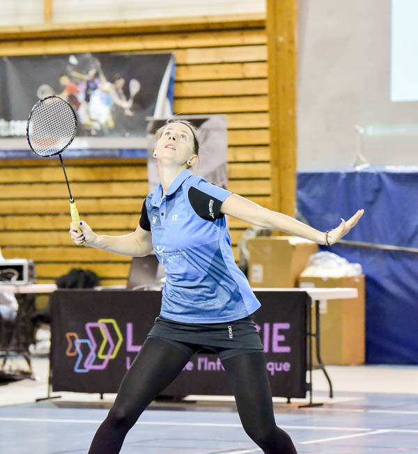USEE Badminton Nationale 1 J6 Saison 2017 2018 1 212