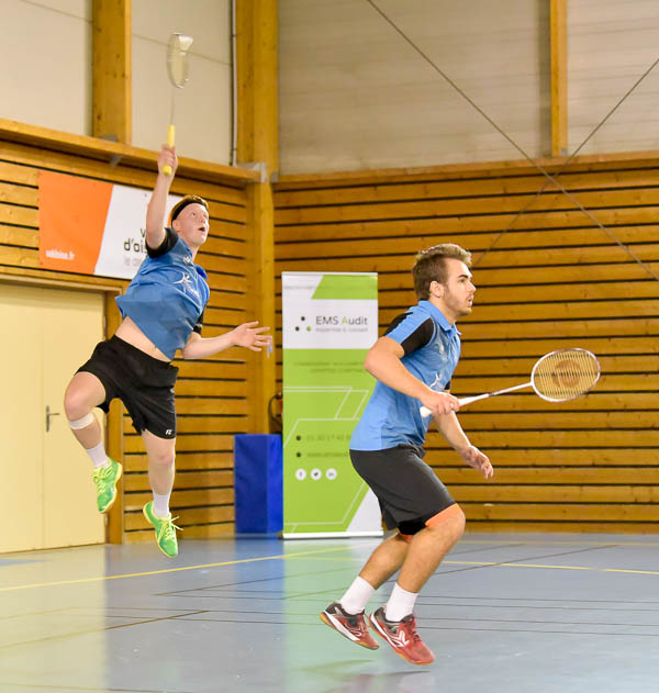 USEE Badminton Nationale 1 J6 Saison 2017 2018 1 278