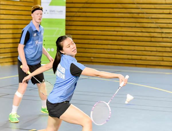 USEE Badminton Nationale 1 J6 Saison 2017 2018 1 371