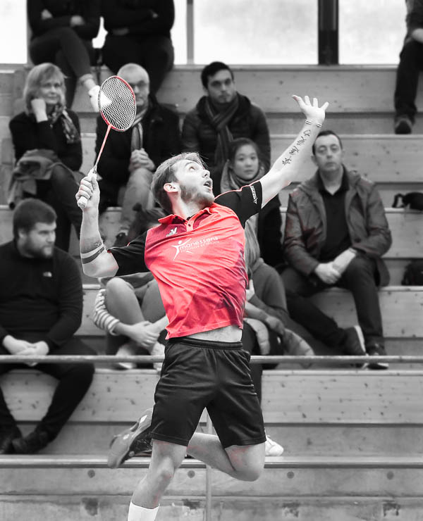 USEE Badminton Nationale 1 J7 Saison 2017 2018 2 202