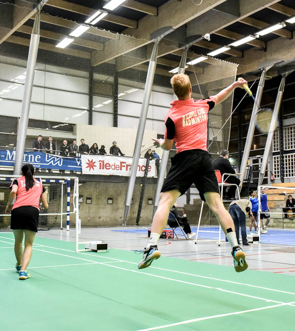 USEE Badminton Nationale 1 J7 Saison 2017 2018 2 504