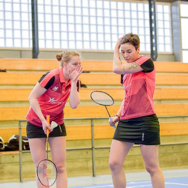 USEE Badminton Nationale 1 J7 Saison 2017 2018 2 54
