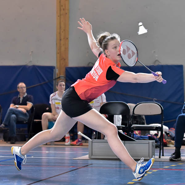 USEE Badminton Nationale 1 J10 Saison 2017 2018 4 112