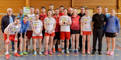 USEE Badminton Nationale 1 J10 Saison 2017 2018 4 15