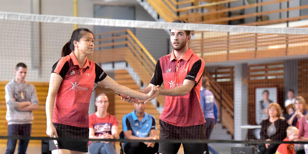 USEE Badminton Nationale 1 J10 Saison 2017 2018 4 218