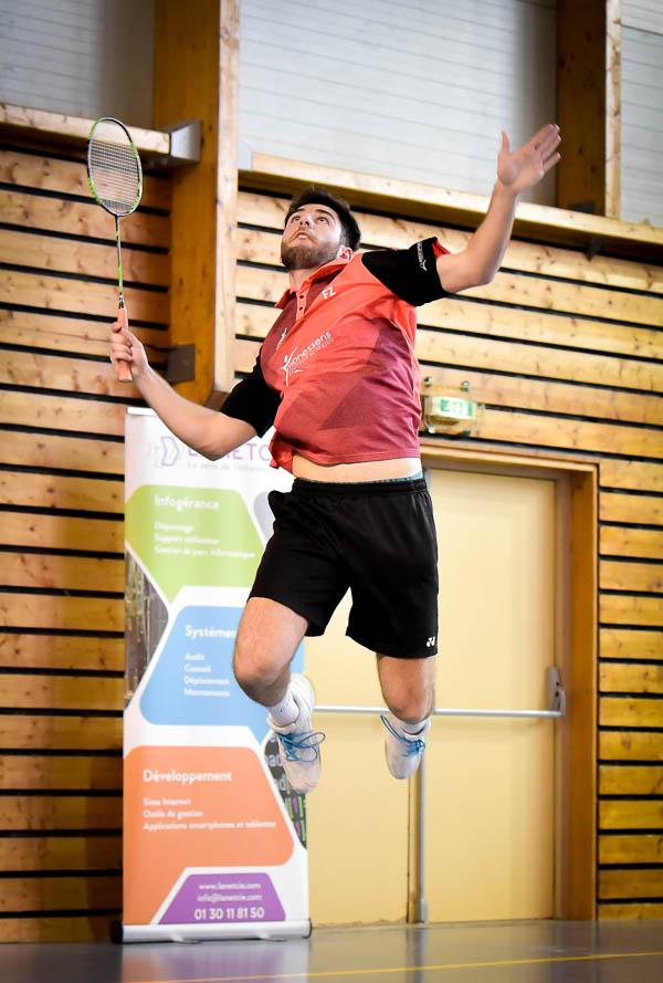 USEE Badminton Nationale 1 J10 Saison 2017 2018 4 269